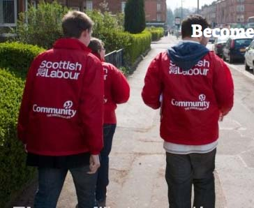 Labour in Scotland jackets